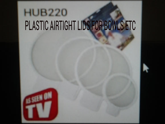 4 PCS AIRTIGHT COVERS