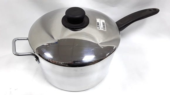 10 INCH SAUCEPAN WITH STEEL LID