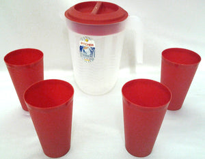 PL JUG & 4pcs cup set