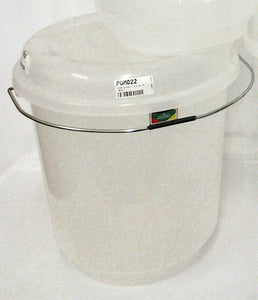 CLEAR BUCKET + LID NO 16
