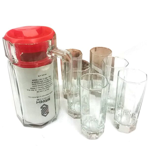BM818/563 BERELIAN 7PC WATER SET