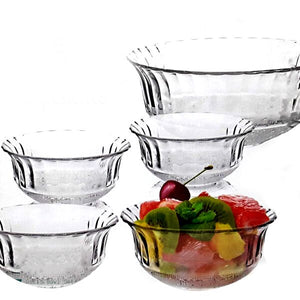 CRYSTAL KONYA 7 PCS FRUIT SET