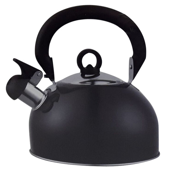 2.5L SS WHISTLING KETTLE BLACK