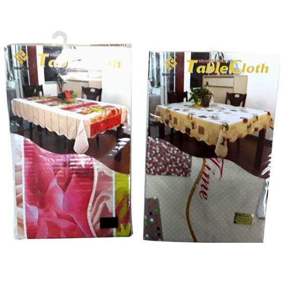 FLOWER TABLE COVER 152 x 203cm (white package) and 120*152cm (red package)