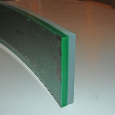 Edgelife 70A/90A Dual Durometer Flat Squeegee