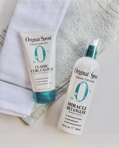 Original Sprout Vegan Hair Care and Styling Products