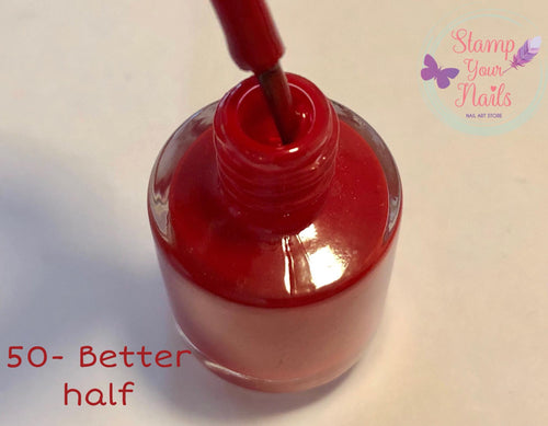 50 Better half - Stamp your nails