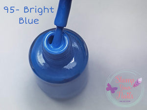 95 Bright Blue - Stamp your nails