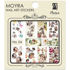 Nail art sticker Moyra 04