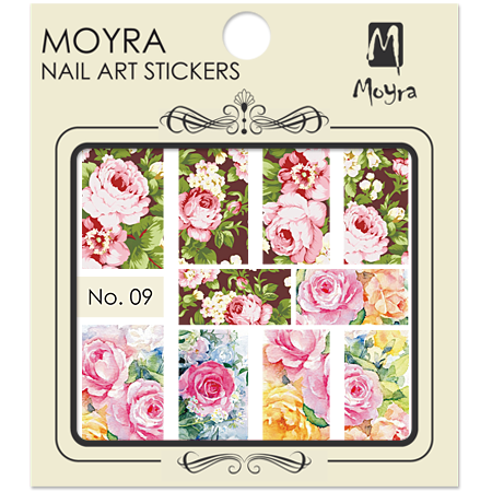 Nail art sticker Moyra 9
