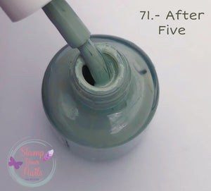 71 After five - Stamp your nails
