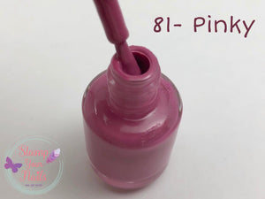 81 Pinky - Stamp your nails