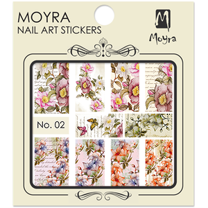Nail art sticker Moyra 02
