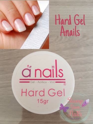 Hard gel - Stamp your nails