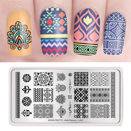 Arab Passion L-003 - Stamp your nails