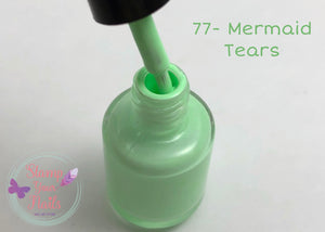 77 Mermaid Tears - Stamp your nails