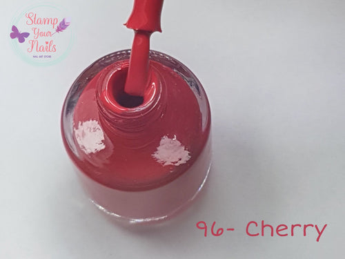 96 Cherry - Stamp your nails