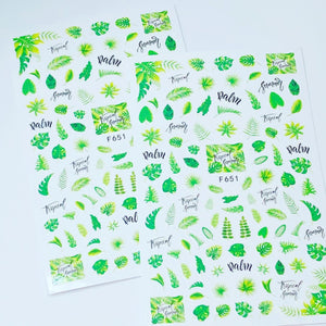 Sticker Leaves