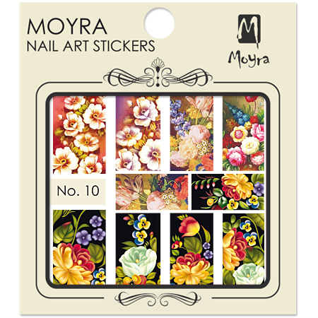 Nail art sticker Moyra 10