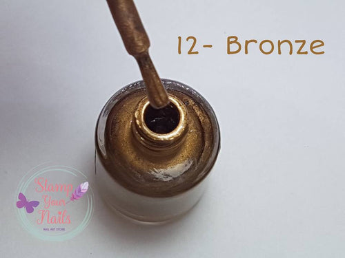 Bronze - Stamp your nails