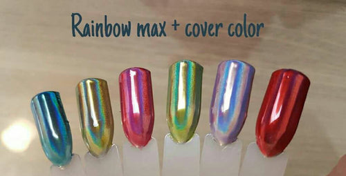 Rainbow max + cover color