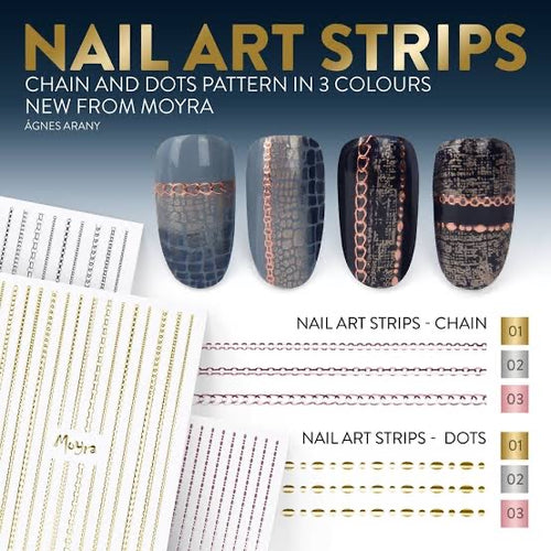 Nail art Strips - Dots