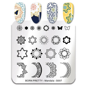 Bp Mandala S007 - Stamp your nails