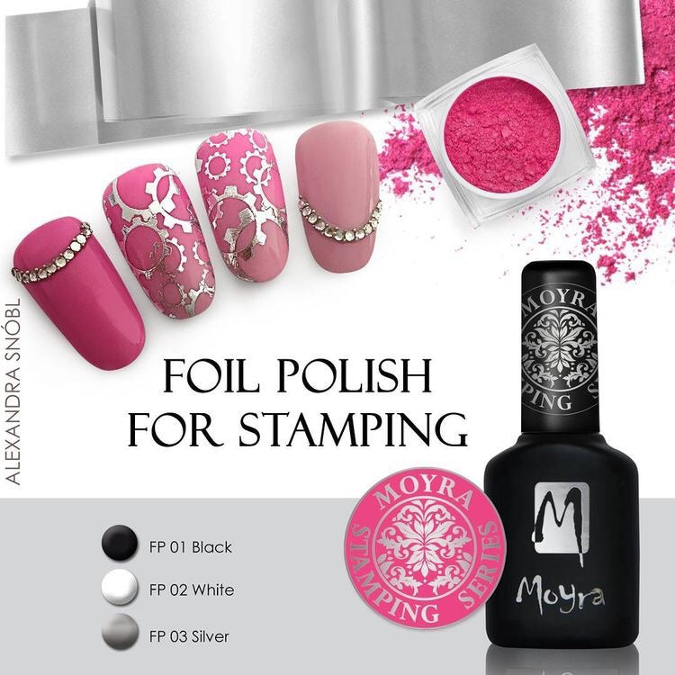 Foil Polish for Stamping - Stamp your nails