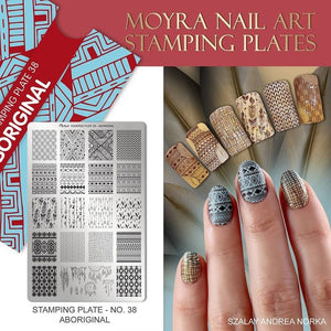 Aboriginal - Stamp your nails
