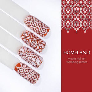 Homeland - Stamp your nails
