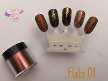 Flake 1 y 2 - Stamp your nails
