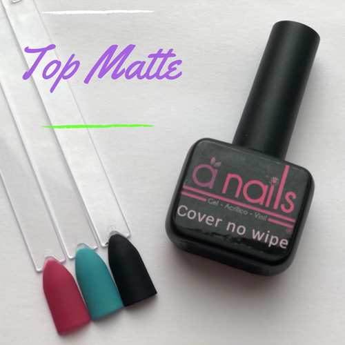 Cover No Wipe Matte - Stamp your nails