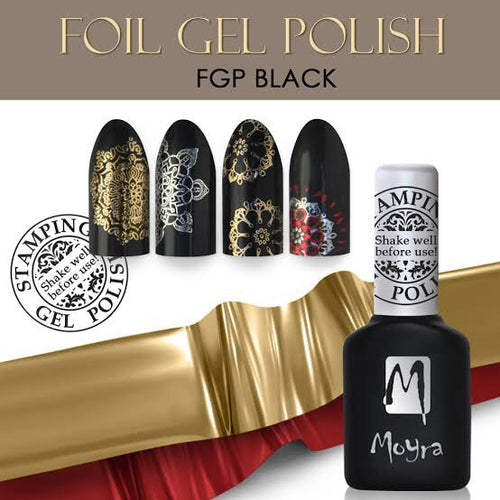 Foil Gel Polish - Stamp your nails