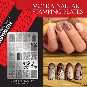 Labyrinth - Stamp your nails