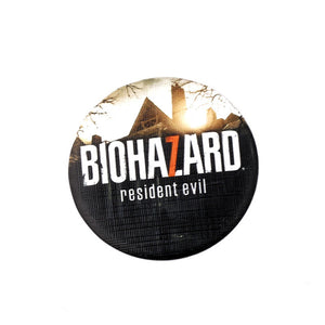BIOHAZARD broches jewelry fashion pin badge Resident Evil 7 tinplate round brooch armband Game accessories charms souvenirs gift
