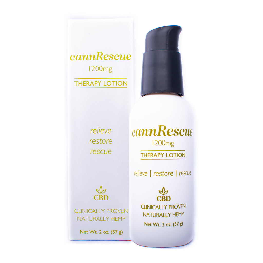 cannRescue Therapy Lotion
