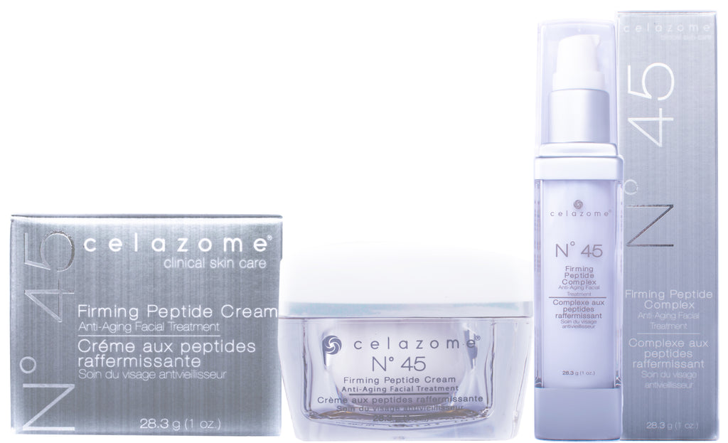 N°45 Firming Peptide Duo Complex + Cream (Retail Value $318) 15% savings