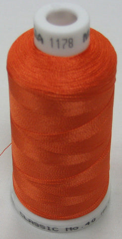 Carrot Orange Embroidery Thread Australia Buy with afterpay