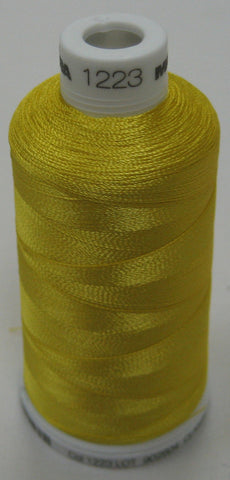 1223 Madeira Machine Embroidery Thread Australia | Lemon Tart - Yellow