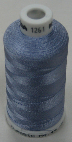 1261 Madeira Machine Embroidery Thread Australia | Lavendula Blue