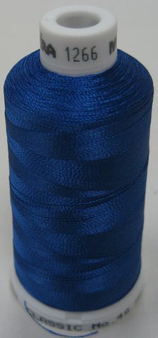 1266 Madeira Machine Embroidery Thread Australia | Regal Blue