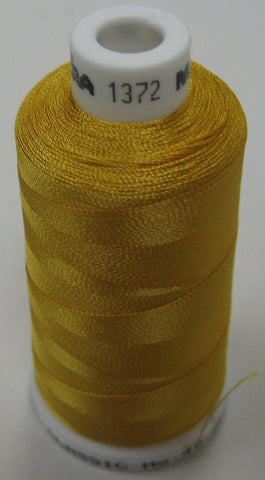 1372 Madeira Machine Embroidery Thread Australia | Honey Yellow