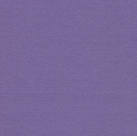 Lavender Purple Embroidery Craft Felt Fabric 9x12' Squares