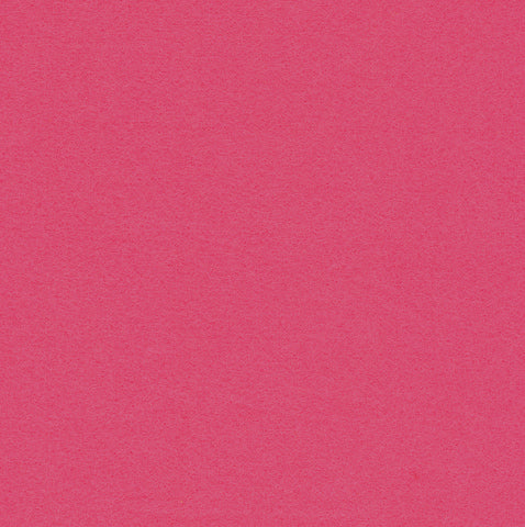 Hot Pink Embroidery Craft Felt Fabric 9x12' Squares