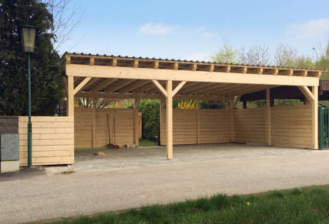 Carport Zimmerei Kindl