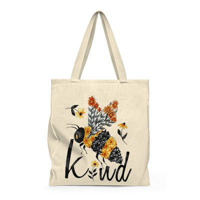 Bee Kind Shoulder Tote Bag