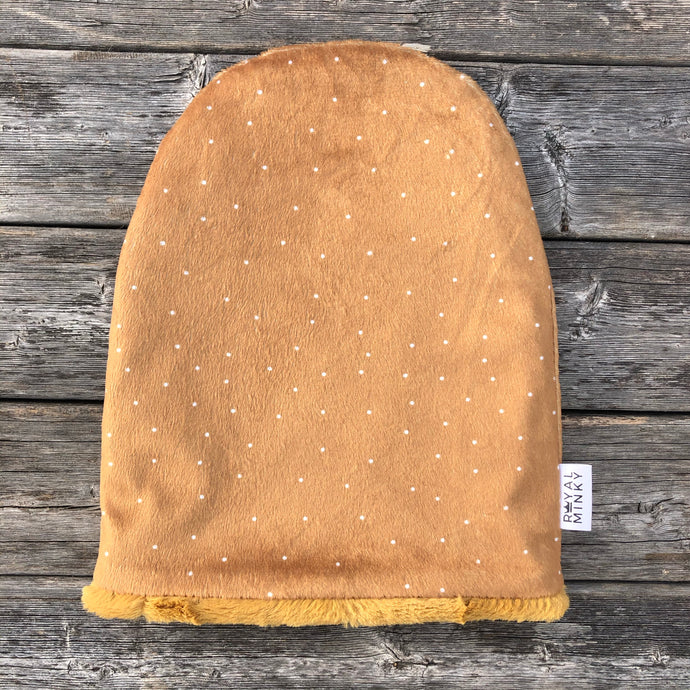 Driftwood Dot Toque - Royal Minky Canada
