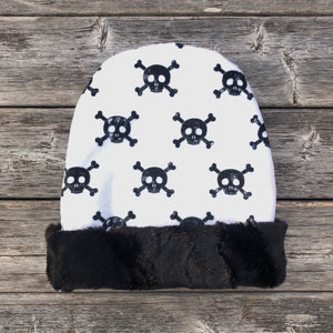 Skull Toque - Royal Minky Canada
