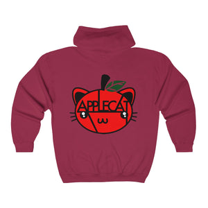 AppleCat Full Zip Hoodie (12 colours available)