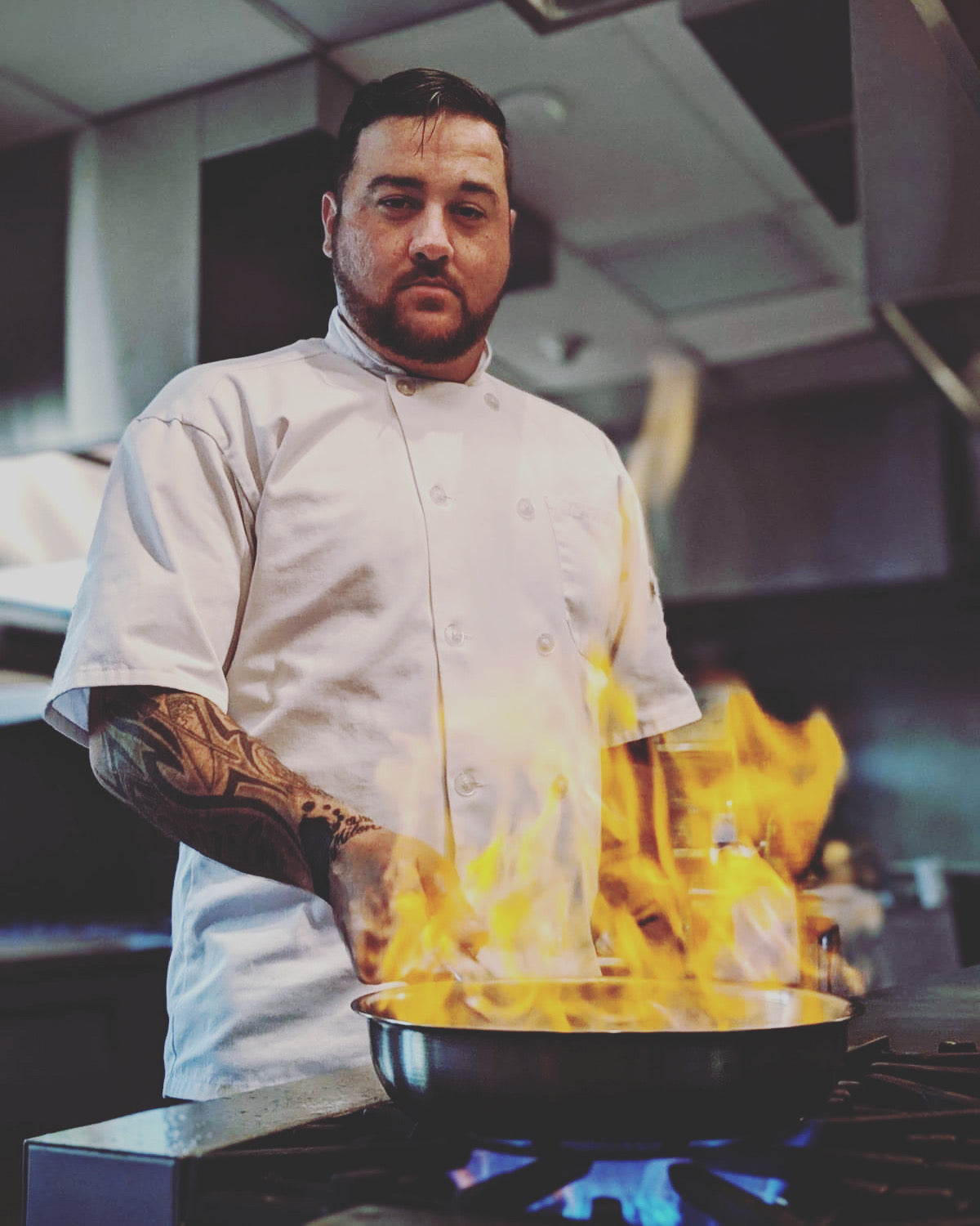 Chef Toto Antonio Belvedere interviews with Karl Schmitz for Heart On My Sleeve Spotlight Interviews with Creatives